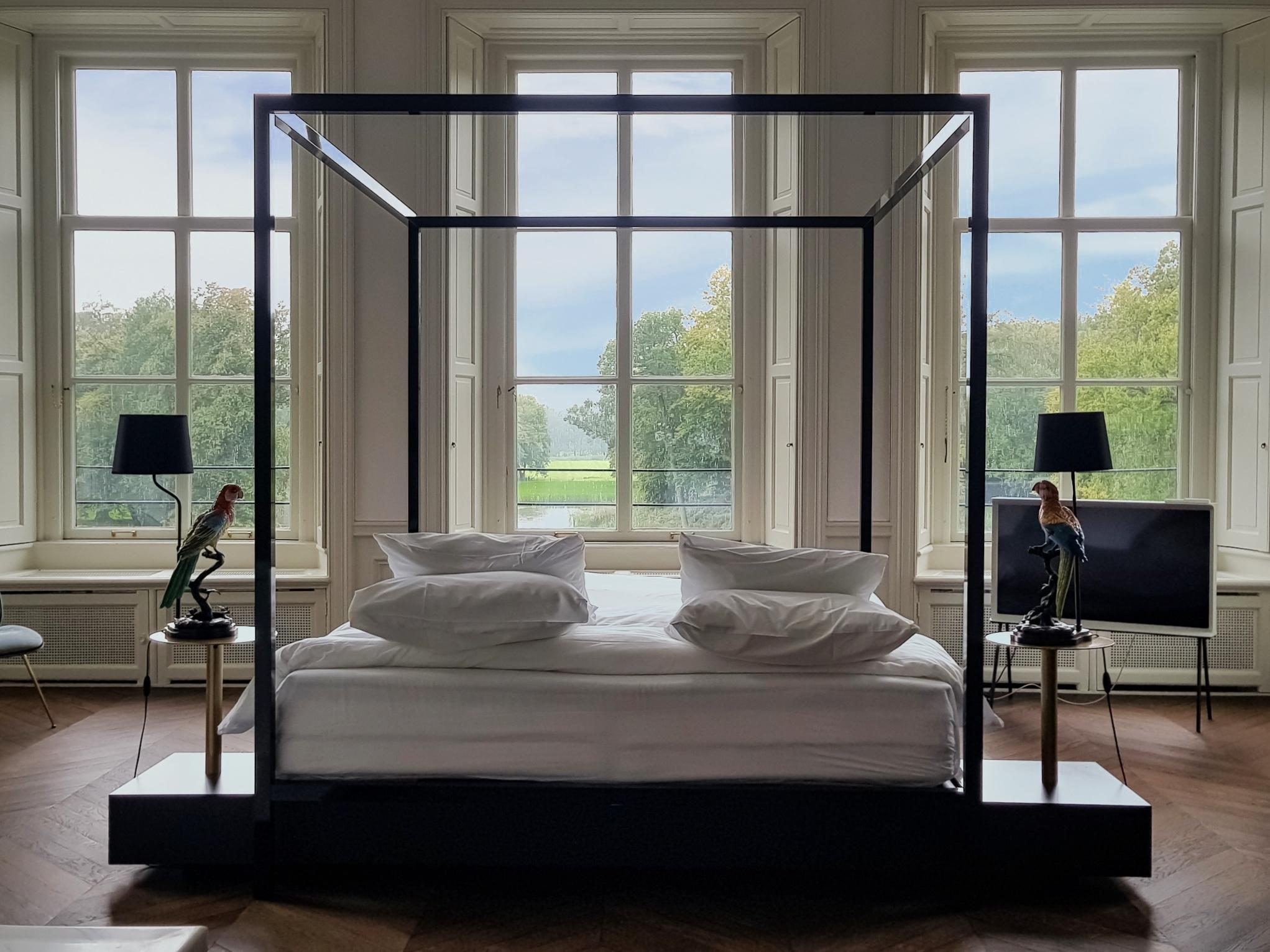 Bruidssuite bed
